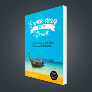 Thailand Ebook: Same Way But Different - Cover
