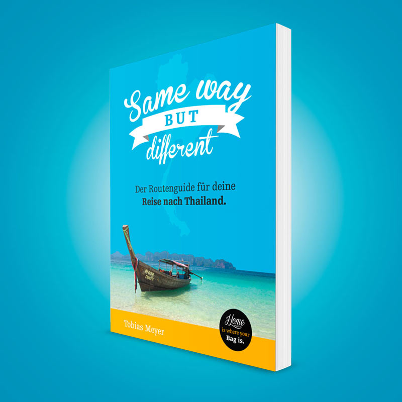 """Thailand-Routenguide """"Same Way But Different"""" Cover"""