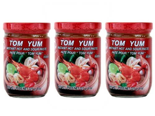 Cock Instant Paste Tom Yum (3er Pack) - Zutaten