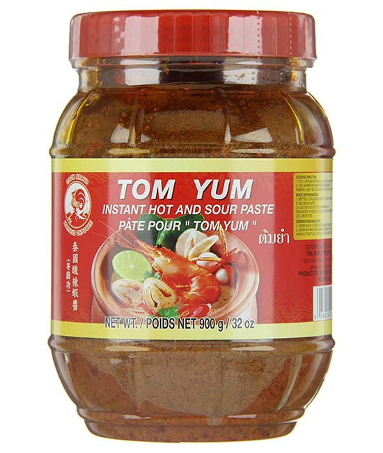 Cock Instant Paste Tom Yum - Zutaten
