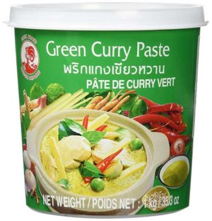 Cock Currypaste, grün (Green Curry) - Zutaten