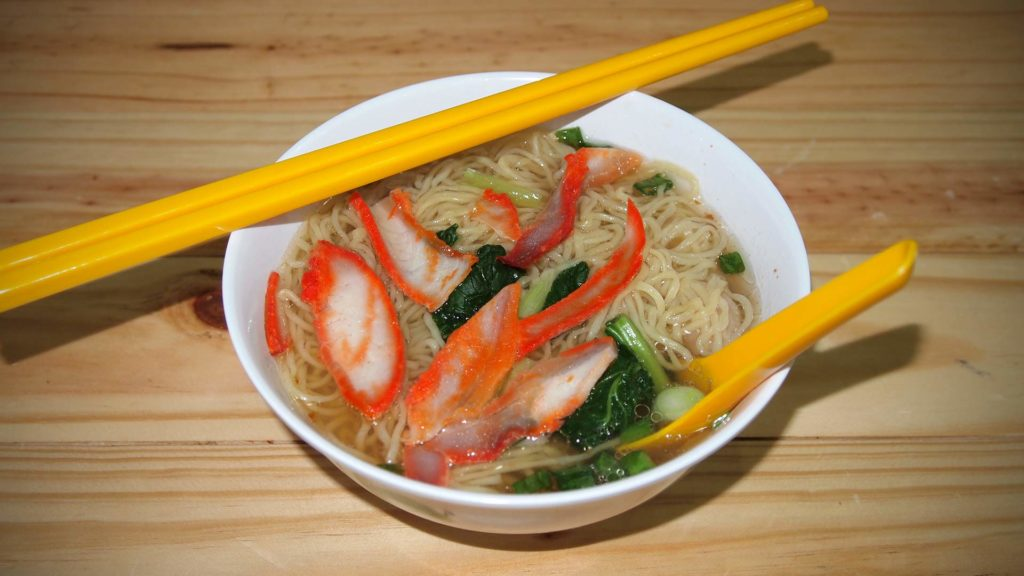 Wantan Mee (Suppe)