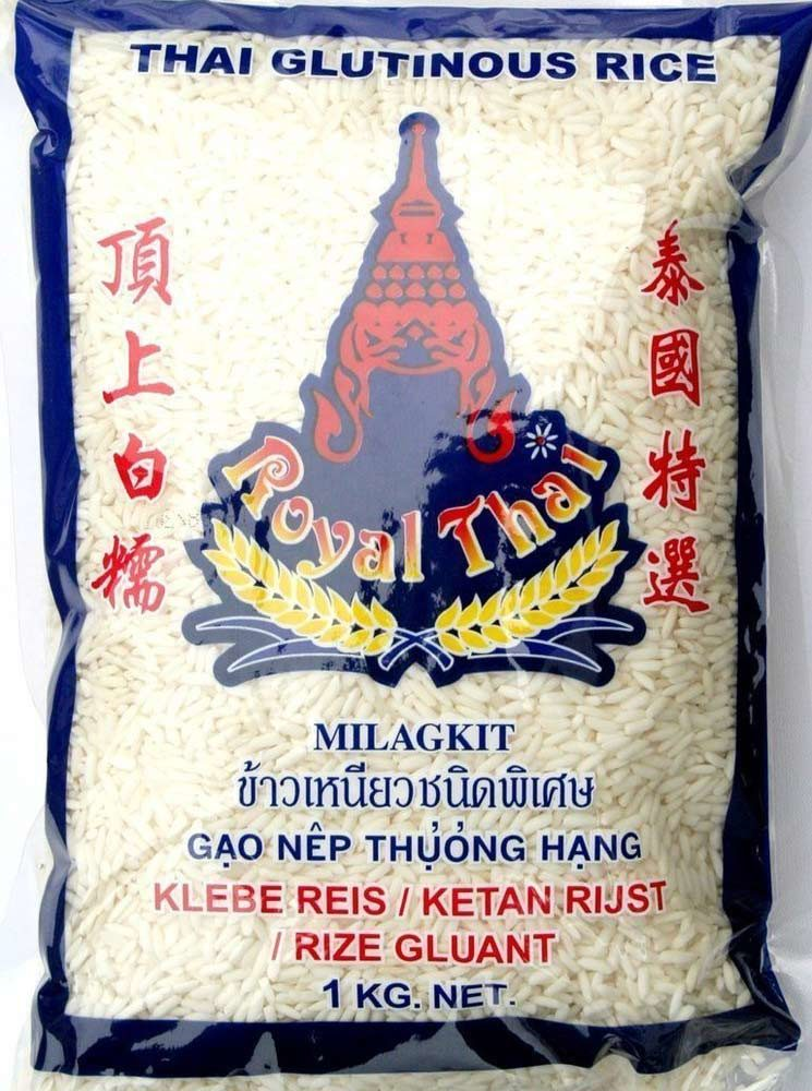 Royal Thai Klebereis (Sticky Rice), 1kg - Zutaten