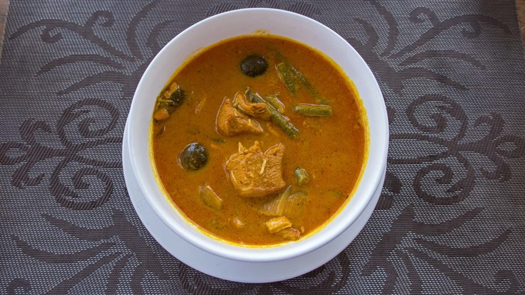 Das rote Curry in Kambodscha: Red Curry